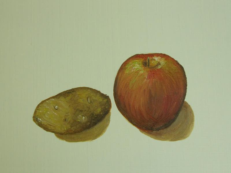 「初めて描く油彩(油絵)画」の作品
